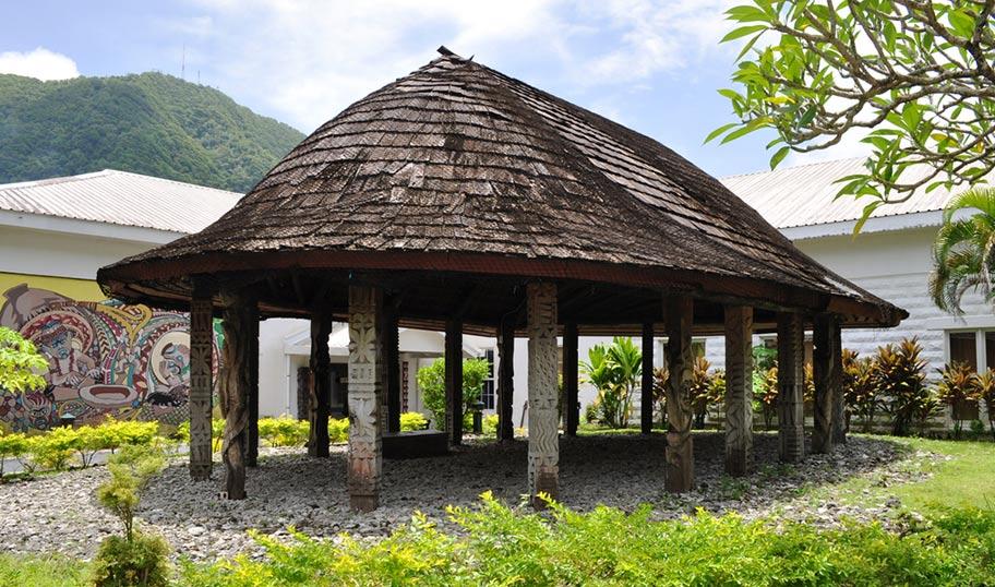 Faleo Klassisches Haus auf Samoa