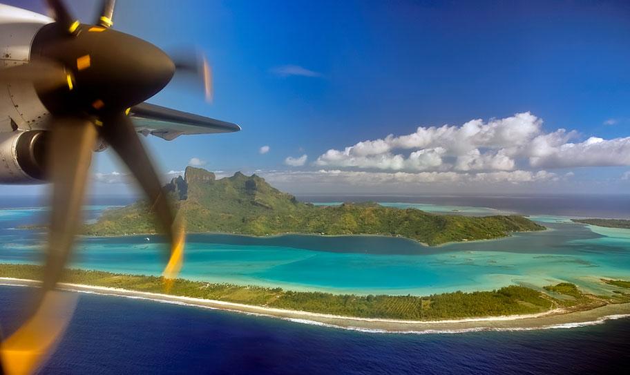 Flugzeug Französisch Polynesien