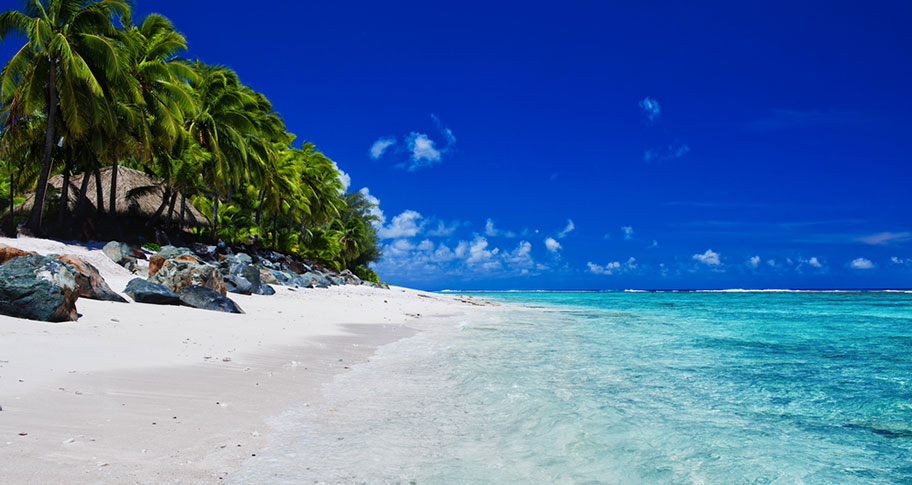 Romantischer Traumstrand Cook Islands