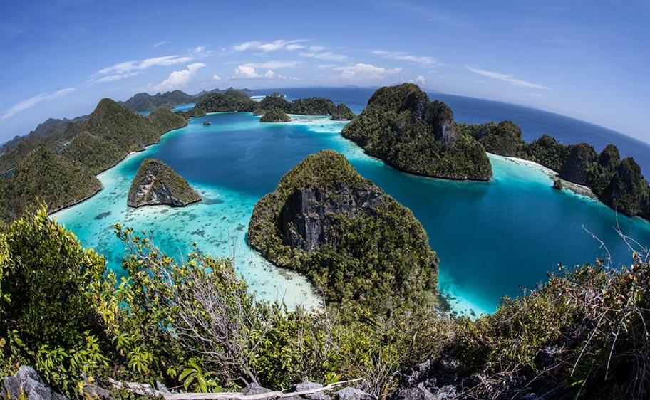Insel Hopping auf Französisch Polynesien