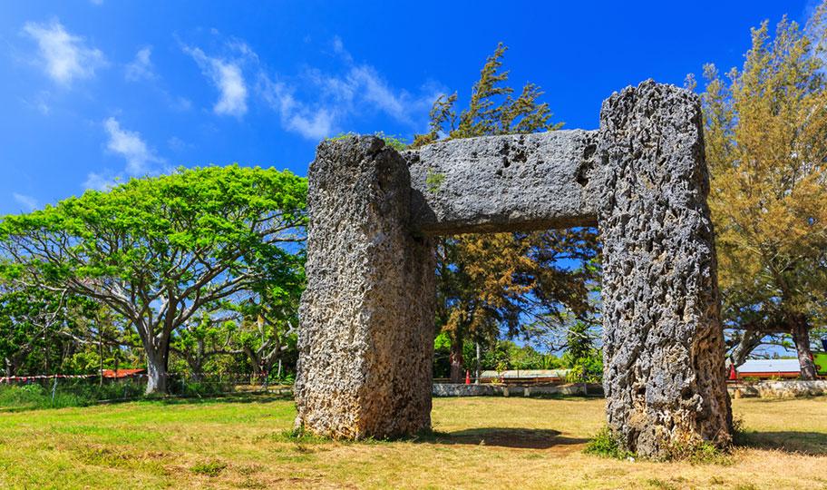 Felsen Natur Tonga Stonehenge