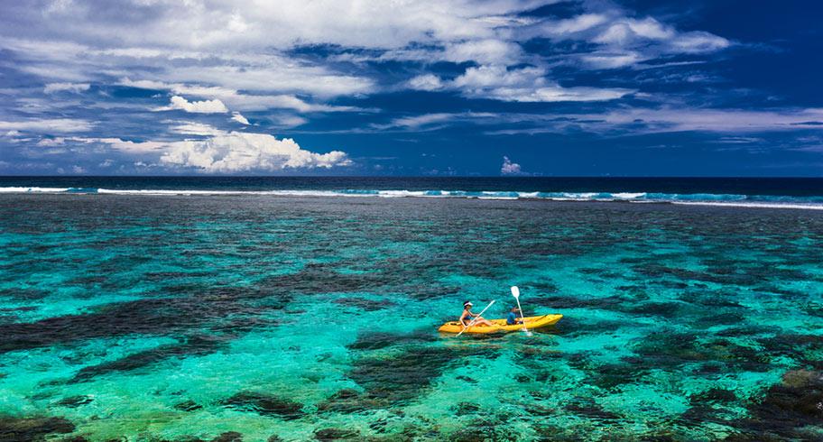 Samoa mit den Kanu erkunden