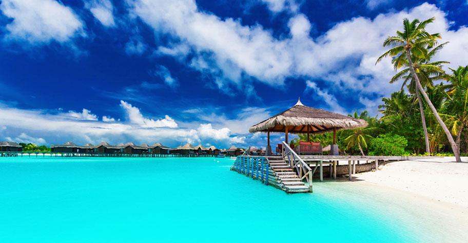 Südsee Insel Übersicht: Bora Bora