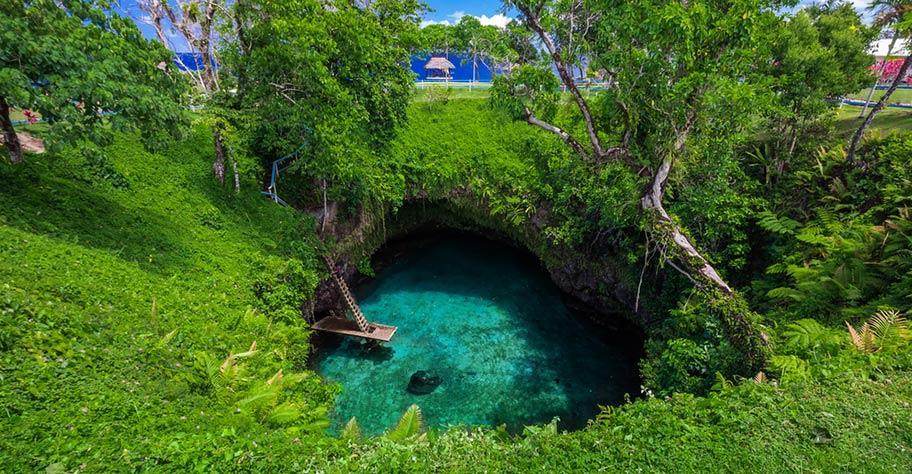 Südseeinsel Übersicht: Samoa