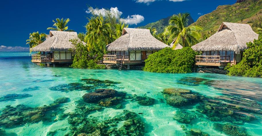 Südsee Insel Übersicht: Tahiti