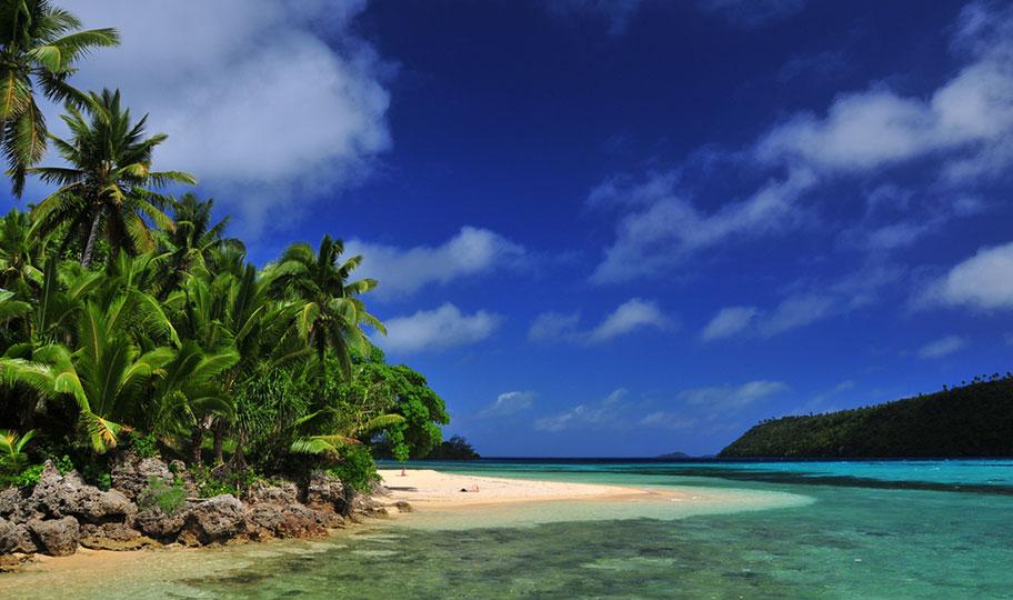 Tonga Honeymoon Reisen Traumstrand