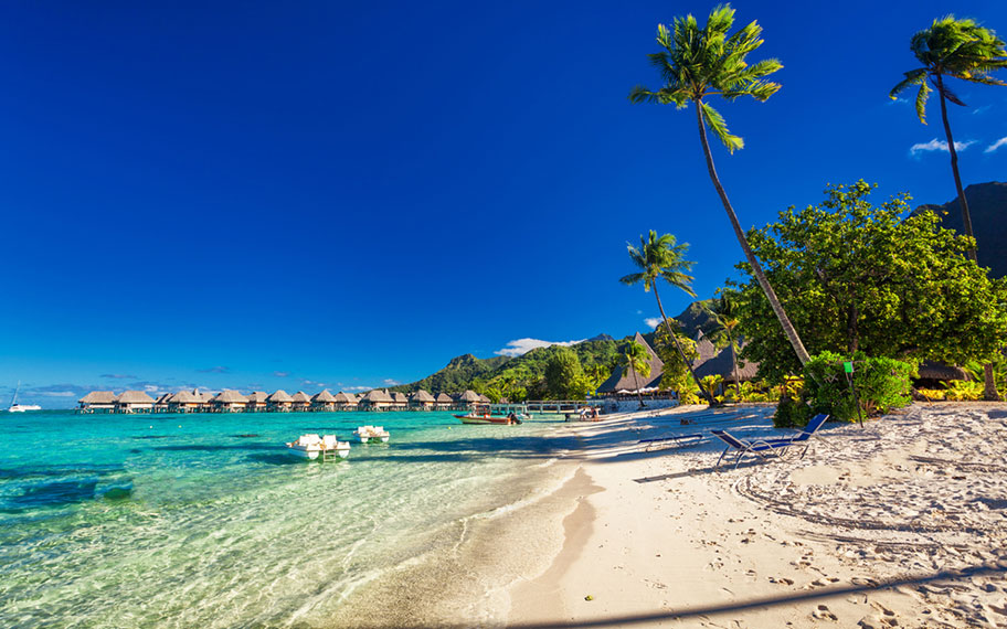 Top Strände der Südsee: Morea, Franz Polynesien