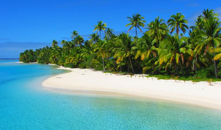 Einer der schönsten Strände der Cook Islands