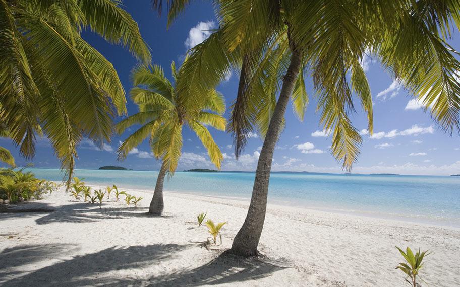 Traumstrände der Südsee: Cook Island, Aitutaki